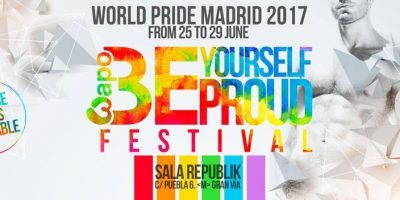 be proud yourself sala republik party gay Madrid