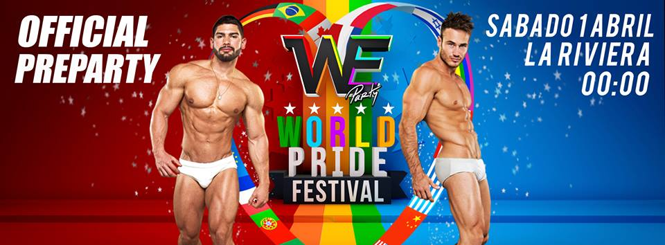 WE Party World Pride 2017 Official Preparty Madrid gay